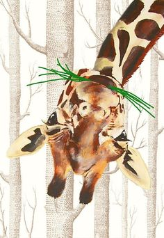 Illustration Drawing Animal Art Painted Portraits by CocktailZoo