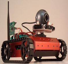 Embedded Robotics – Embedded Systems Applications in Robotics  An embedded systems applications are widely used in real time home appliances and millitary applications etc, like spy robots, pic n place robotics etc.