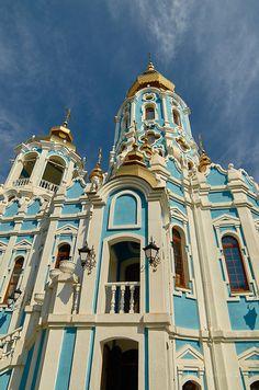 Temple of Queen Tamara. Kharkov. Ukraine