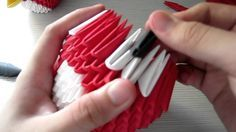 How to: 3D Origami Angry Bird Tutorial [Part 2]