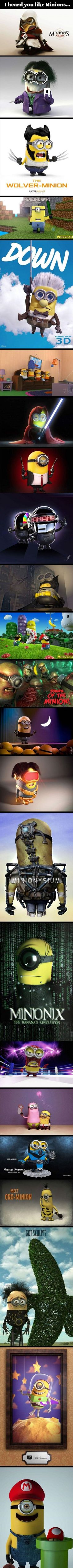 SO...MUCH...YES - Fun Picture | Webfail - Fail Pictures and Fail Videos.  Love me some Minion's!