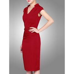 Buy Jolie Moi High Collar Ruched Bodycon Dress Online at johnlewis.com