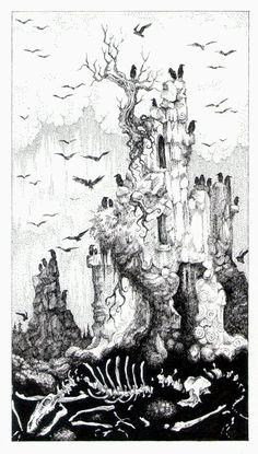 Tarot - 16 The Tower by zsofiadome on DeviantArt