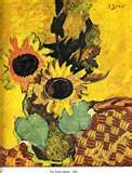 Sunflowers - Georges Braque