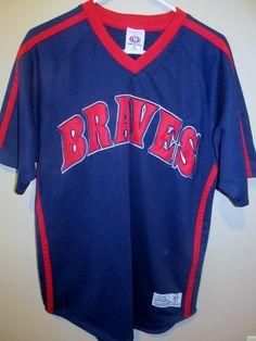 Atlanta Braves pullover jersey , medium - Baseball-MLB