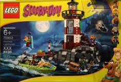 LEGO Scooby-Doo 75903 Haunted Lighthouse Building Kit Seek out the hidden gems at the Haunted Lighthouse! Help Scooby-Doo and gang find the treasure in the Lego Scooby Doo, Scooby Doo Mystery, Building For Kids, Building Toys, Pokemon, Buy Lego, Cool Lego, Lego Ninjago, Lego City