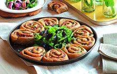 Pizza bianca di farro, pecorino e asparagi