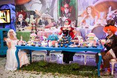 festa alice no pais das maravilhas 15 anos - Pesquisa Google