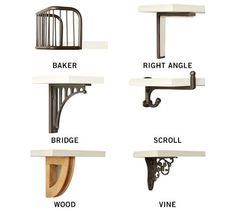 Baker shelf bracket