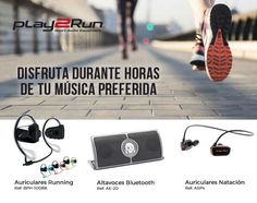 Disfruta de tu música preferida con Play2Run