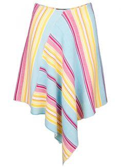 Asymmetric Skirt Susana Bettencourt, scar-id store, portuguese independent brand, young designers, knittwear, porto design store