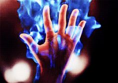 (gif) Who else sees Blue Exorcist? I can only imagine Rin's blue flames. Story Inspiration, Writing Inspiration, Character Inspiration, Gifs, Wattpad, Mystique, Blue Flames, Throne Of Glass, Gif Animé