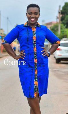Simple and nice African Dresses For Kids, African Lace Dresses, Latest African Fashion Dresses, African Print Fashion, Trendy Ankara Styles, Ankara Dress Styles, African Attire, African Wear, 1930s Fashion