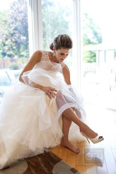 This stunning dress: http://www.stylemepretty.com/2013/10/29/new-jersey-country-club-wedding-from-christian-oth-studio/ | Photography: Christian Oth - http://christianothstudio.com/