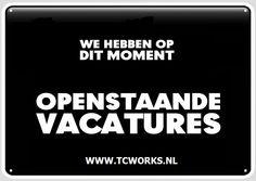 TC Works Openstaande Vacatures Vacancies