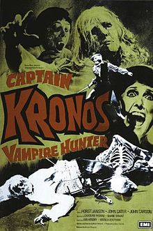 Captain Kronos - Vampire Killer (1974) Hammer Film - Movie Poster https://www.youtube.com/user/PopcornCinemaShow