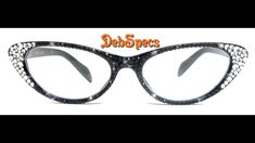184a8b7e1e3 DebSpecs sparkles with a new collection of genuine Swarovski Jimmy Crystal  reading glasses to match your hottest