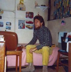 Londres - Em casa da irmã Amélia em 1970.