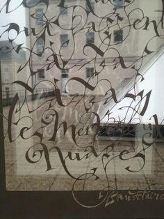 Calligraphie by Pablo Dugaz