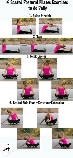 Exercises to help with good posture.