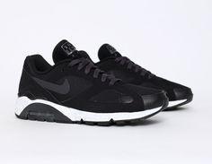 #Nike #AirMax 180 Terra Black #sneakers