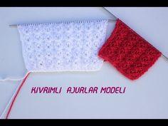 Kıvrımlı kolay ajur modeli anlatımı // Kolay Örgü Modelleri - YouTube Knitting Stitches, Hat Patterns, Youtube, Decor, Crochet Jacket, Tejidos, Knitting Patterns, Decoration, Decorating