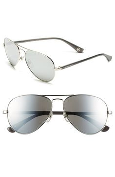 MICHAEL Michael Kors 58mm Aviator Sunglasses available at #Nordstrom