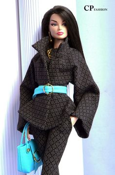 CP ITALIAN STYLE handmade outfit  for FASHION ROYALTY  FR2  BODY