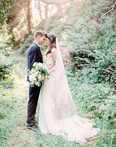 Must have свадебной фотосессии 2015: фотосессия в лесу - The-wedding.ru