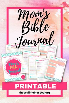 Mom's Bible Journal