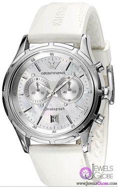 15c528f955a Empório Armani Relógios Brancos Para Homens