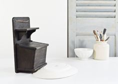 French Wooden Salt box with Shelf by FrenchGypsy on Etsy, $30.00