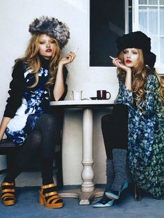 cafe fashion editorial