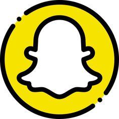 Snapchat Free, Snapchat Logo, Snapchat Icon, App Icon Design, Logo Design, App Store Icon, Application Iphone, Logo Image, Cute App
