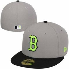 New Era Boston Red Sox Color Pop 59FIFTY Fitted Hat - Gray