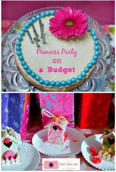 Throw a fun Princess themed birthday party without hurting your budget
