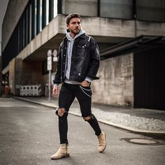 Style by @_maglu_ Yes or no? Follow @mensfashion_guide for dope fashion posts! #mensguides #mensfashion_guide