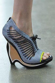 Jessica Alba wearing Proenza Schouler Shoes.