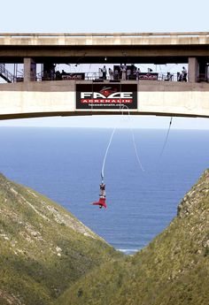 Bloukrans Bungy Jump have played host to the likes of Prince Harry, Jack Osbourne, Thabo Mbeki, the Zuma family, Kelly Slater, Andy Irons, The Amazing Race, and many more famous and not so famous visitors – you never know who you could meet on any given day at Bloukrans, the world's highest bungy bridge!
