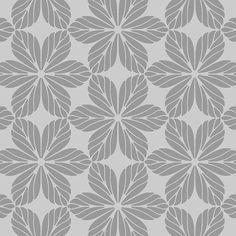 Floral Allover Pattern Wall Stencil SKU: S0052 by StencilMall