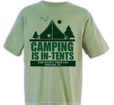 Custom T-shirt Design PACK 243 In-Tents