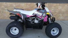 New 2017 Polaris Outlaw 110 Pink Power ATVs For Sale in California.