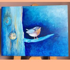 Bird, Painting, Birds, Painting Art, Paintings, Painted Canvas, Drawings