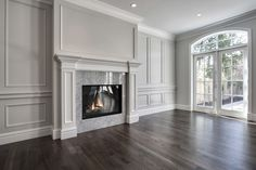 Martine Ast Projekte: Paul Lavoie Interior Design – home decor. Bedroom Fireplace, Home Fireplace, Fireplace Remodel, Living Room With Fireplace, Fireplace Surrounds, Fireplace Design, Fireplaces, Fancy Living Rooms, New Living Room