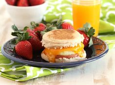 Easy make ahead Freezer Breakfast Sandwiches thatareready when you are. This Egg McMuffin copycatis so simple to whip up and freeze, you'll never make a drive-thru run again. A healthy br…