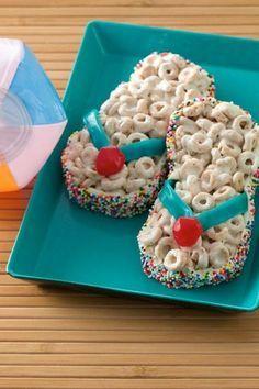 Rice Krispy sandals