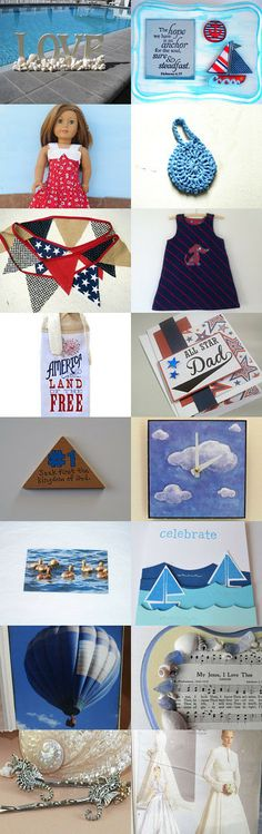 Summer Days by Sarah Johnson on Etsy--Pinned with TreasuryPin.com