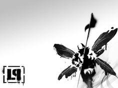 Fond d'écran hd : art noir et blanc