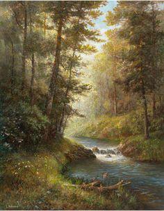 Ручей в лесу | Флёрова Елена Николаевна
