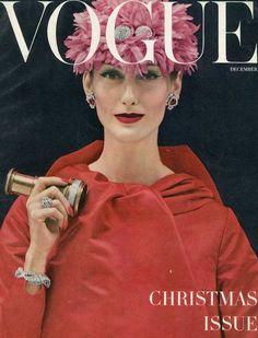 Mary Jane Russell  December 1955 Vogue